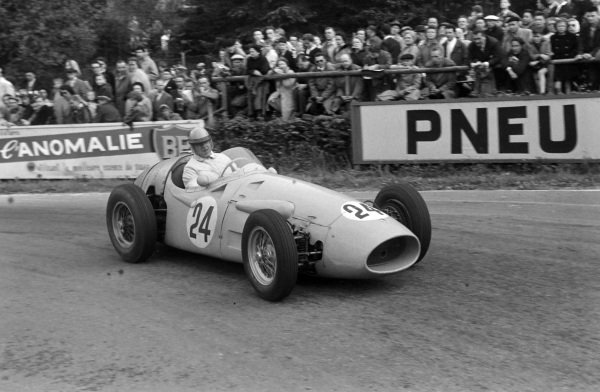 Louis Rosier, Maserati 250F.