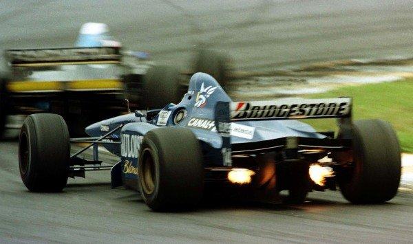 1997 Brazilian Grand Prix.Interlagos, Sao Paulo, Brazil.28-30 March 1997.Olivier Panis (Prost JS45 Mugen Honda) 3rd position.World Copyright - LAT Photographic