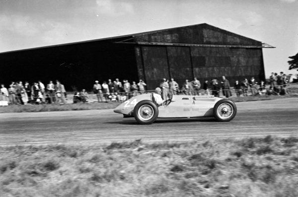 Philippe Étancelin, Talbot-Lago T26C.