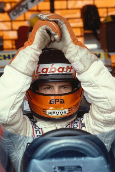 1980 Formula One World Championship.Gilles Villeneuve (Ferrari).A Race Through Time exhibition number 7.World Copyright - LAT Photographic