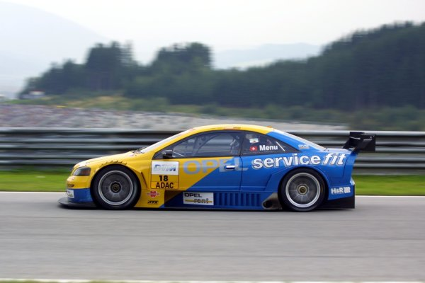2002 DTM Championship A1 Ring, Austria. 7th - 8th September 2002. Alain Menu (Opel Euroteam), action.World Copyright: Andre Irlmeier/LAT Photographic