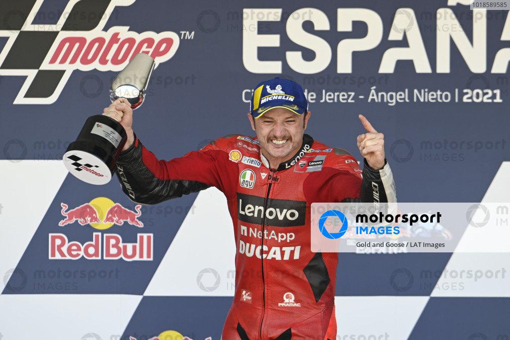 Podium: Race winner Jack Miller, Ducati Team.