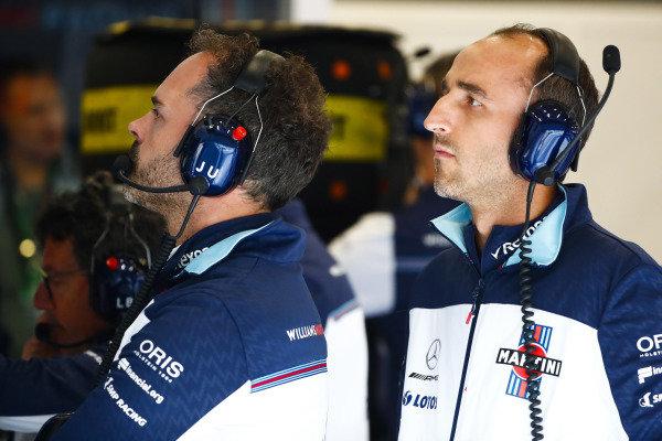 Robert Kubica, Williams Martini Racing.