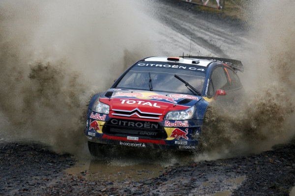 Round 15, Wales Rally GB, 4th-7th December 2008Dani Sordo, Citroen, ActionWorldwide Copyright: McKlein/LAT