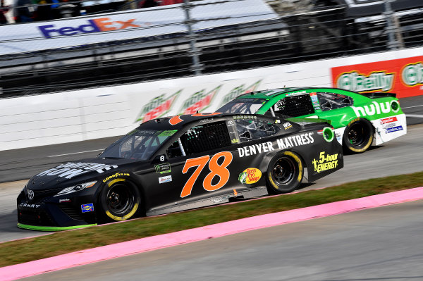 Monster Energy NASCAR Cup Series First Data 500 Martinsville Speedway, Martinsville VA USA Sunday 29 October 2017 Martin Truex Jr, Furniture Row Racing, Furniture Row/Denver Mattress Toyota Camry World Copyright: Rusty Jarrett LAT Images