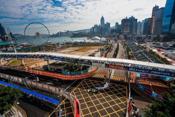 2017/2018 FIA Formula E Championship. Round 1 - Hong Kong, China. Saturday 02 December 2017.Lucas Di Grassi (BRA), Audi Sport ABT Schaeffler, Audi e-tron FE04. Photo: Alastair Staley/LAT/Formula E ref: Digital Image _ALS5615