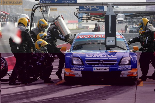 2005 DTM ChampionshipLausitz, Germany. 17th - 18th September 2005Marcel Fassler (Opel Vecrta GTS V8), pitstop.World Copyright: Andre Irlmeier / LAT Photographicref: Digital Image Only