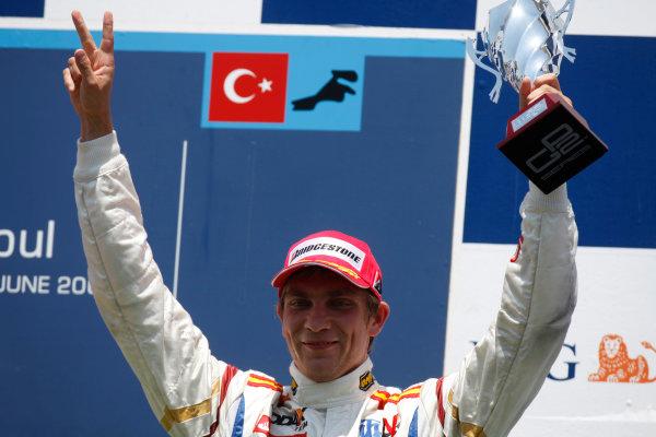 Sunday Race. 7th June 2009. Vitaly Petrov (RUS, Barwa International Campos Team). World Copyright: Glenn Dunbar/ GP2 Series Media Service.Ref: _MG_0124 jpg