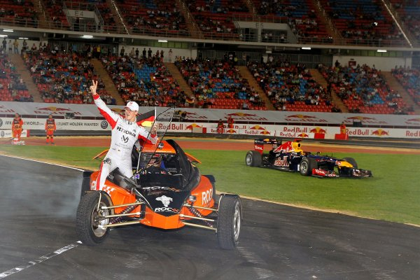 Rajamangala Stadium, Bangkok, Thailand 13th - 16th December 2012 Team Germany enjoy their ROC Nations Cup triumph World Copyright: IMP (USAGE FREE FOR EDITORIAL PURPOSES ONLY)