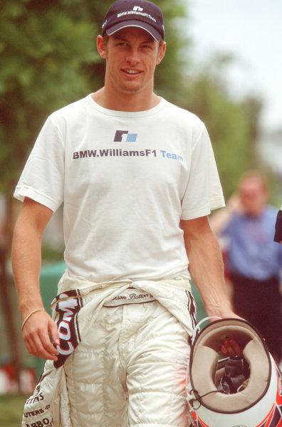 Sepang, Kuala Lumpur.20-22 October 2000.Jenson Button (Williams BMW).Ref-35mm A16.World Copyright - Coates/LAT Photographic