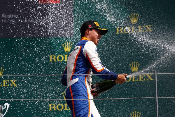 2015 GP3 Series Round 2. Red Bull Ring, Spielberg, Austria. Sunday 21 June 2015. Oscar Tunjo (COL, Trident)  Photo:  Sam Bloxham/GP3 Media Service ref: Digital Image _G7C5940