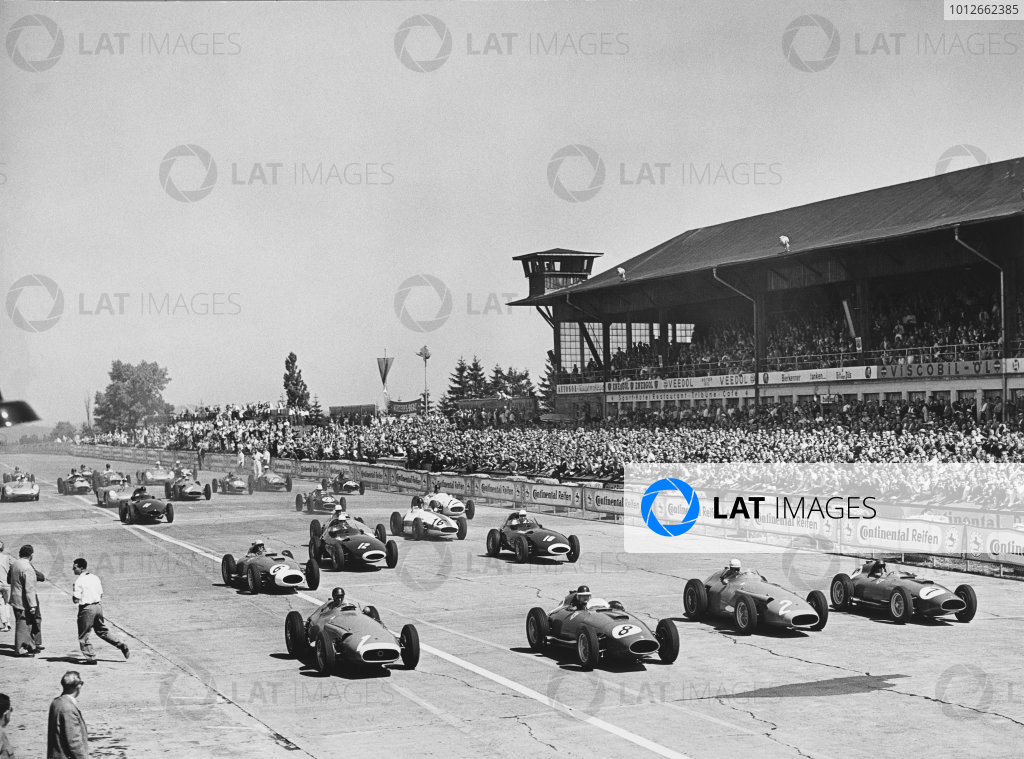 Nurburgring, Germany.  2nd - 4th August 1957. 