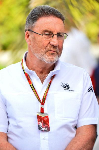 Richard Phillips (GBR) Silverstone Managing Director. Formula One World Championship, Rd3, Bahrain Grand Prix, Practice, Bahrain International Circuit, Sakhir, Bahrain, Friday 4 April 2014.