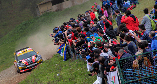 Martin Prokop (CZE) / Jan Tomanek (CZE) Jipocar Czech National Team Ford Fiesta RS WRC. FIA World Rally Championship, Rd4, Rally de Portugal, Day Two, Algarve Portugal, 5 April 2014.