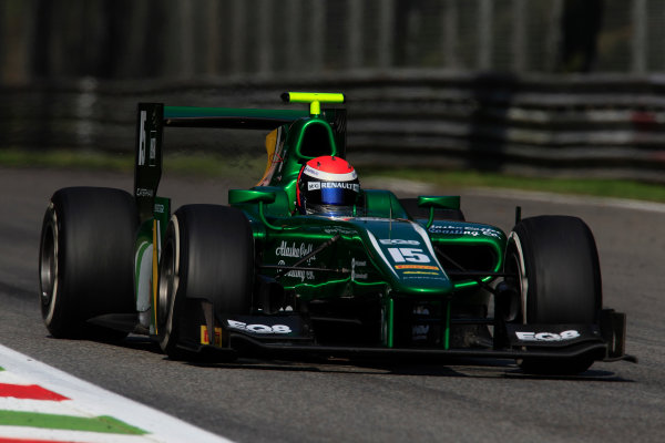2013 GP2 Series. Round 9.  Autodromo di Monza, Monza, Italy. 6th September.  Friday Qualifying.  Alexander Rossi (USA, Caterham Racing). Action.  World Copyright: Charles Coates/GP2 Media Service. ref: Digital Image _X5J6535.jpg