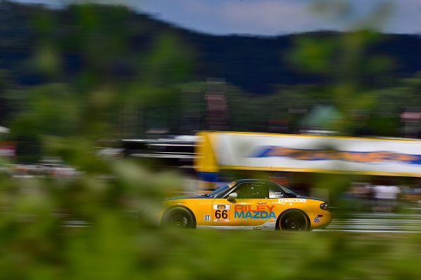 IMSA Continental Tire SportsCar Challenge Lime Rock Park 120 Lime Rock Park, Lakeville, CT USA Friday 21 July 2017 66, Mazda, Mazda MX-5, ST, Jameson Riley, AJ Riley World Copyright: Gavin Baker LAT Images
