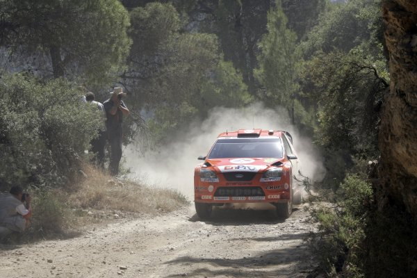 2007 FIA World Rally ChampionshipRound 8Acropolis Rally of Greece31/5-3/6  2007Henning Solberg, action, FordWorldwide Copyright: McKlein/LAT