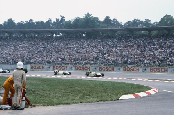 Hockenheim, Germany. 8 August 1982.