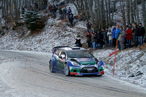 Round 01-Rally Monte Carlo 17-22 January 2012. Petter Solberg, Ford WRC, ActionWorldwide Copyright: McKlein/LAT