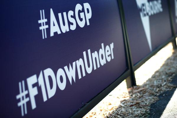 Albert Park, Melbourne, Australia. Tuesday 15 March 2016. #AusGP & #F1Downunder hashtags World Copyright: Sam Bloxham/LAT Photographic. ref: Digital Image _L4R9697