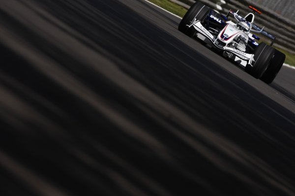 2007 Italian Grand Prix - Friday PracticeAutodromo di Monza, Monza, Italy.7th September 2007.Nick Heidfeld, BMW Sauber F1 07. Action. World Copyright: Lorenzo Bellanca/LAT Photographicref: Digital Image _64I4959