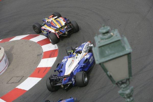 2007 GP2 Series. Round 3. Saturday Race.Monte-Carlo, Monaco. 26th May 2007.Javier Villa (ESP, Racing Engineering). Action. World Copyright: Andrew Ferraro/GP2 Series Media Service ref: Digital ImageZP9O1096