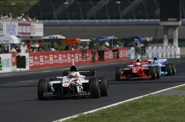 2007 Formula Nippon ChampionshipTwinring Motegi, Japan.19th - 20th May 2007Andre Lotterer (DHG Tom's), 2nd position, action.World Copyright: Yasushi Ishihara/LAT Photographicref: Digital Image 2007_FN_Rd3_014