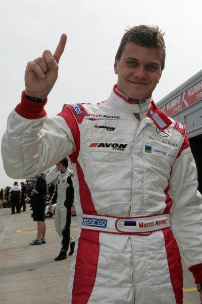 2007 British Formula Three Championship,Donington Park 21st-22nd April 2007,Marko Asmer (EST) HiTech Racing Dallara MerecedesWorld copyright: Ebrey/LAT Photographic.
