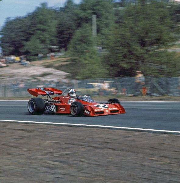 1973 Belgian Grand Prix.Zolder, Belgium.18-20 May 1973.Chris Amon (Tecno PA123) 6th position, action.World Copyright - LAT Photographic