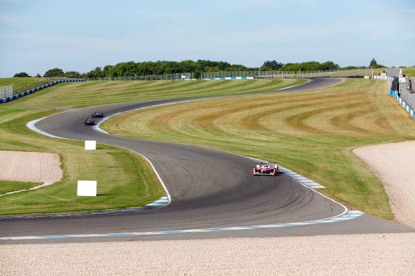 FIA Formula E Season 3 Testing - Day Two. Donington Park Racecourse, Derby, United Kingdom. Nick Heidfeld, Mahindra Racing, Spark-Mahindra, at the Craner Curves. Wednesday 24 August 2016. Photo: Adam Warner / LAT / FE. ref: Digital Image _14P2232
