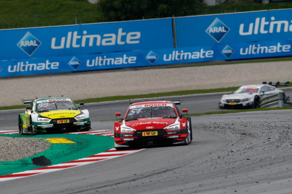 2017 DTM Round 8  Red Bull Ring, Spielberg, Austria  Sunday 24 September 2017. Nico Müller, Audi Sport Team Abt Sportsline, Audi RS 5 DTM  World Copyright: Alexander Trienitz/LAT Images ref: Digital Image 2017-DTM-RBR-AT3-2625