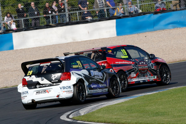 2017 Volkswagen Racing Cup, Donington Park, Leicestershire. 23rd - 24th September 2017. Bobby Thompson. World Copyright: JEP/LAT Images