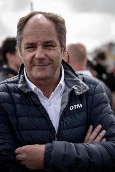 2017 DTM Round 6  Circuit Zandvoort, Zandvoort, Netherlands Saturday 19 August 2017 Gerhard Berger, ITR Chairman World Copyright: Mario Bartkowiak/LAT Images ref: Digital Image 2017-08-19_DTM_Zandvoort_R1_0124