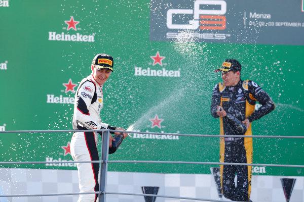 2017 GP3 Series Round 6.  Autodromo Nazionale di Monza, Monza, Italy. Sunday 3 September 2017. George Russell (GBR, ART Grand Prix).  Photo: Sam Bloxham/GP3 Series Media Service. ref: Digital Image _W6I4494