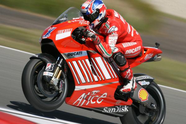 TT Circuit Assen, Netherlands. 25th June 2008Free Practice.Casey Stoner Ducati Marlboro Team.World Copyright: Martin Heath / LAT Photographicref: Digital Image Only