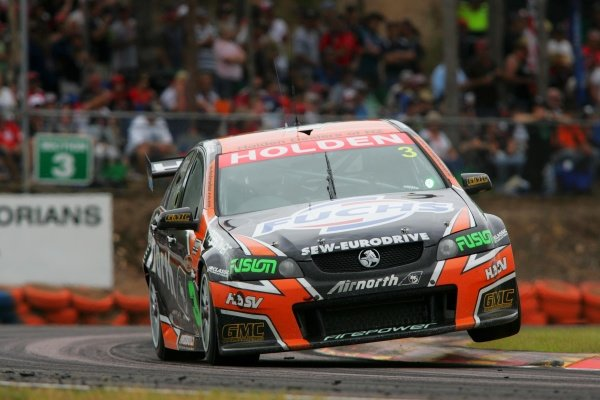 Jason Richards, (NZ) Tasman Motorsport Commodore finished 8th outright after coming from last in race 1Sky City Triple CrownRd 6 V8 SupercarsHidden ValleyDarwinAust