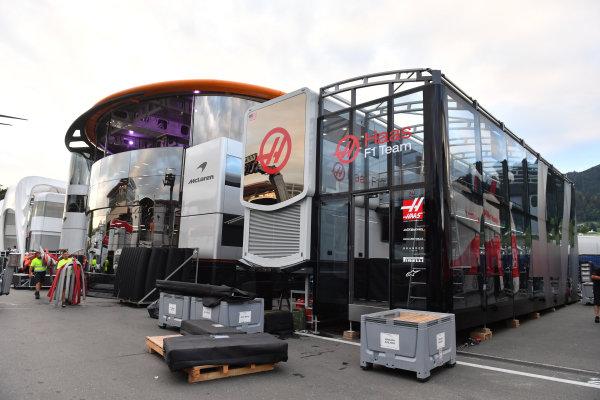 Haas F1 motorhome and frieght
