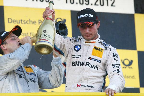 Round 8 - Oschersleben, Germany.14th - 16th September 2012.Winner, Bruno Spengler (CAN) BMW Team Schnitzer BMW M3 DTM.World Copyright: Schaber / XPB Images / LAT Photographicref: Digital Image 2354926_HiRes