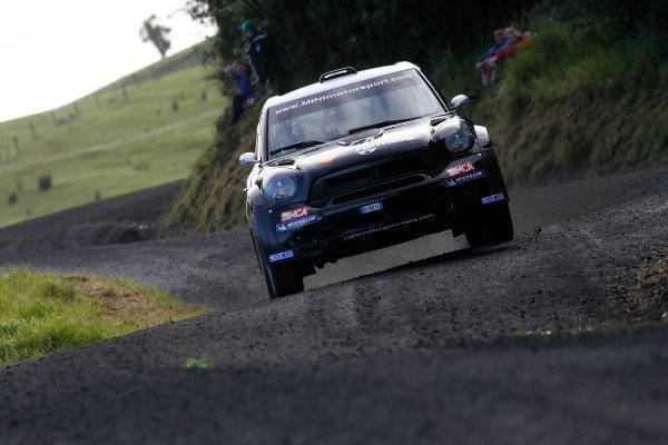 Round 7, Rally New Zealand, 21st-24th June 2012 Armindo Araujo, Mini, Action. Worldwide Copyright: McKlein/LAT Photographic.
