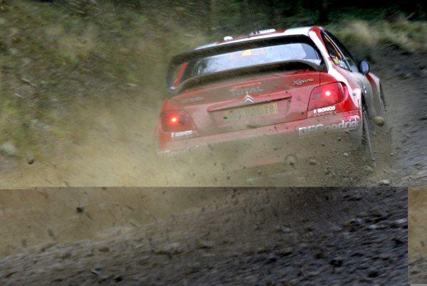 2006 World Rally Championship.Round 16. Wales Rally GB. 1st - 3rd December 2006.Dani Sordo/Marc Marti, Xsara. Action.World Copyright: Alastair Staley/LAT Photographic.ref: Digital Image _F6E7134