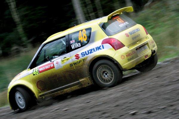 2006 FIA World Rally Champs. Round sixteen.Wales Rally GB. 1st-3rd December 2006.Guy Wilks, Suzuki, action.World Copyright: McKlein/LAT