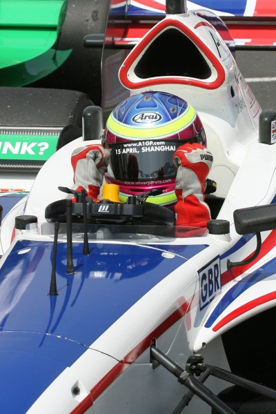 25.03 2007 Mexico City, Mexico, Oliver Jarvis , Driver of A1Team Great Britain - A1GP World Cup of Motorsport 2006/07, Round 9, Mexico City, Sunday Race 1 - Copyright A1GP Team Great Britain - Copyright free for editorial usage