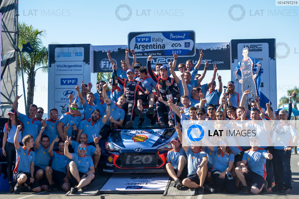 2017 FIA World Rally Championship, Round 05, Rally Argentina, April 27-30, 2017,  Worldwide Copyright: McKlein/LAT