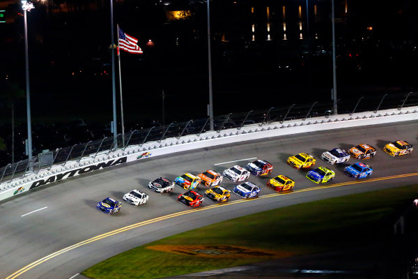 2017 NASCAR Monster Energy Cup - Can-Am Duels Daytona International Speedway, Daytona Beach, FL USA Thursday 23 February 2017 Chase Elliott and Brad Keselowski World Copyright: Russell LaBounty/LAT Images ref: Digital Image 17DAY2rl_01596