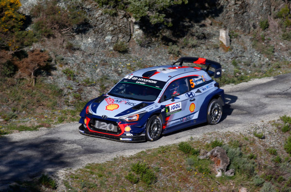 2017 FIA World Rally Championship, Round 04, Rallye de France, Tour de Corse, April 06-09, 2017, Thierry Neuville, Hyundai, action Worldwide Copyright: McKlein/LAT