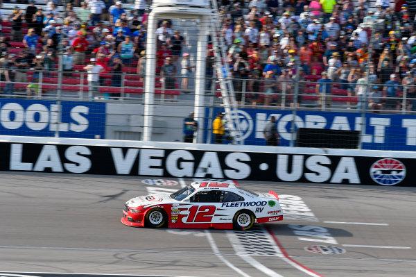 2017 NASCAR Xfinity Series - Boyd Gaming 300 Las Vegas Motor Speedway - Las Vegas, NV USA Saturday 11 March 2017 Joey Logano World Copyright: Nigel Kinrade/LAT Images ref: Digital Image 17LAS1nk05938