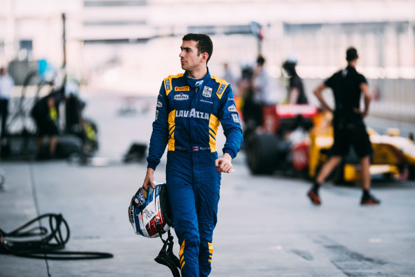 Bahrain International Circuit, Sakhir, Bahrain. Friday 31 March 2017 Nicholas Latifi (CAN) DAMS  Photo: Malcolm Griffiths/FIA Formula 2 ref: Digital Image MALC1802