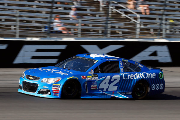 Monster Energy NASCAR Cup Series AAA Texas 500 Texas Motor Speedway Fort Worth, TX USA Sunday 5 November 2017 Kyle Larson, Chip Ganassi Racing, Credit One Bank Chevrolet SS World Copyright: Russell LaBounty LAT Images
