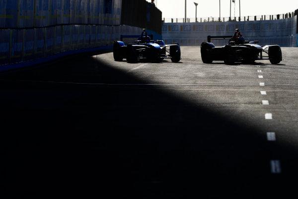Sébastien Buemi (SUI), Renault e.Dams, Renault Z.E 17, and Andre Lotterer (BEL), TECHEETAH, Renault Z.E. 17.