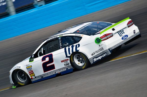 Monster Energy NASCAR Cup Series Can-Am 500 Phoenix Raceway, Avondale, AZ USA Sunday 12 November 2017 Brad Keselowski, Team Penske, Miller Lite Ford Fusion World Copyright: Nigel Kinrade LAT Images